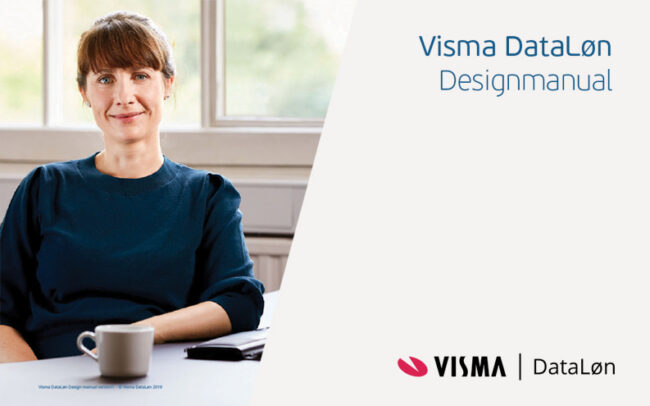 Visma Dataløn Design Manual and Visual Identity update