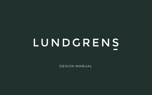 Lundgrens Visual Identity YNOTBOB Graphic Design – Grafisk Design