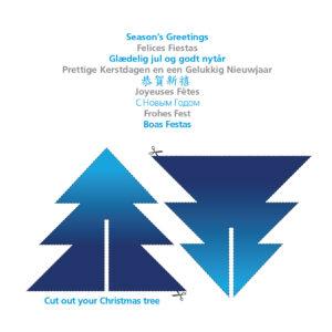 Christmas Card Novo Nordisk YNOTBOB Graphic Design – Grafisk Design