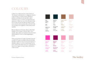 The Society Design Manual – Visual Identity YNOTBOB Graphic Design – Grafisk Design