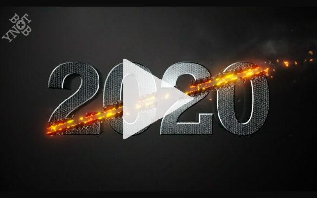 YNOTBOB 3D Motion Graphics Happy New Year